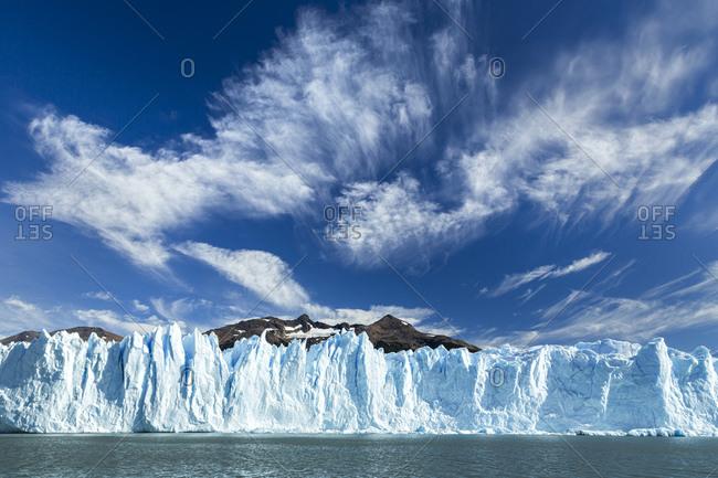 Perito Moreno Glacier and Argentino Lake at Los Glaciares National Park, Patagonia