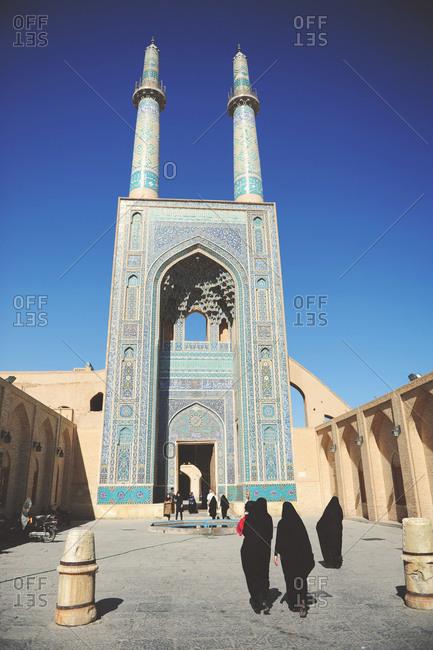 The Jameh Mosque of Yazd, Iran