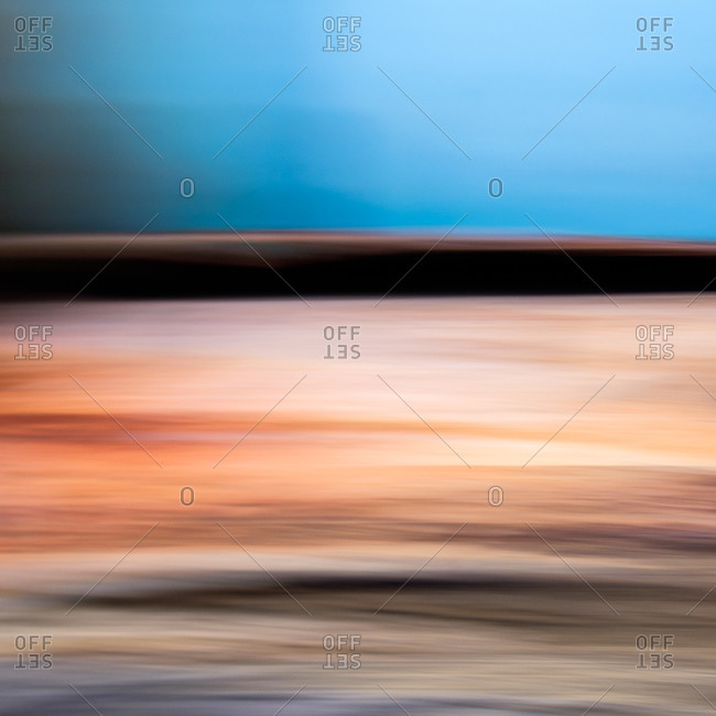 Abstract image of the surface of a fishing boat
