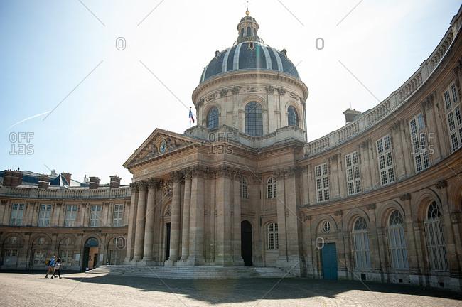 Paris, France - April 14, 2012: Institut de France in Paris