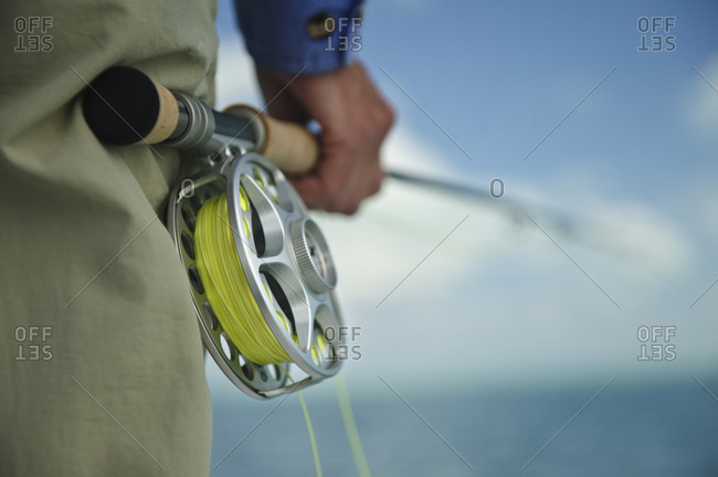 Close up of a reel