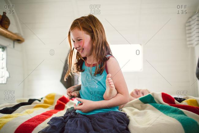 Girl On Girl Tickling