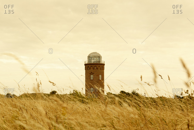 Positioning tower at Cape Arkona