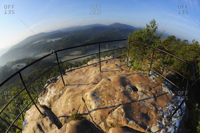 Observation point on mountain, Dahn