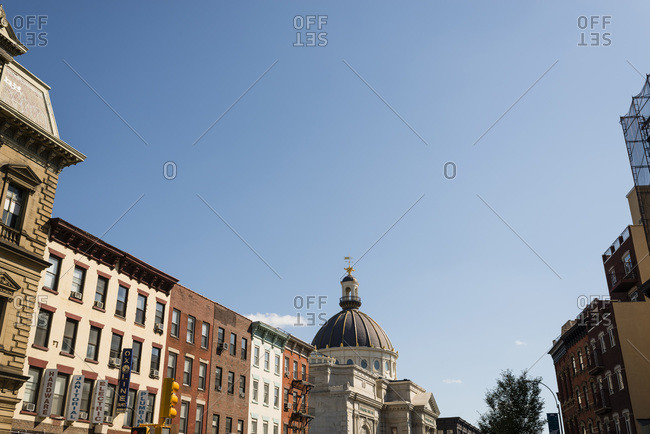 Brooklyn, New York, NY - October 6, 2014: Williamsburgh Savings Bank