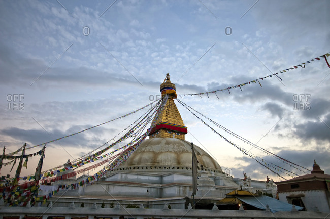 Boudhanath is one of the holiest Buddhist sites in the world  Located in Kathmandu, Nepal