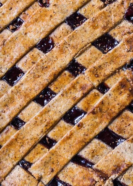 A gluten-free Linzer Torte - Offset
