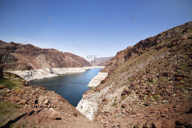 Colorado River before the Hoover Dam