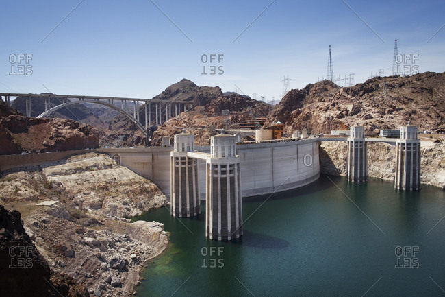 Hoover Dam and the Hoover Dam Bypass