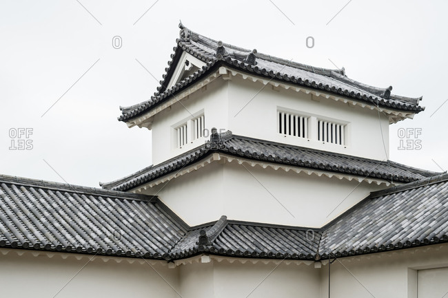 Hikone, Japan - May 4, 2015: Hikone castle in Shiga prefecturem, Japan