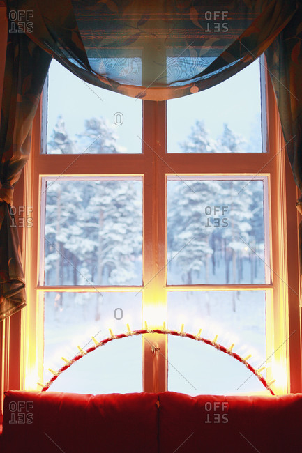 Lights on windowsill - Offset Collection