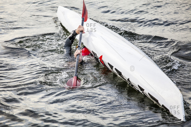 Canoe capsizing from the Offset Collection