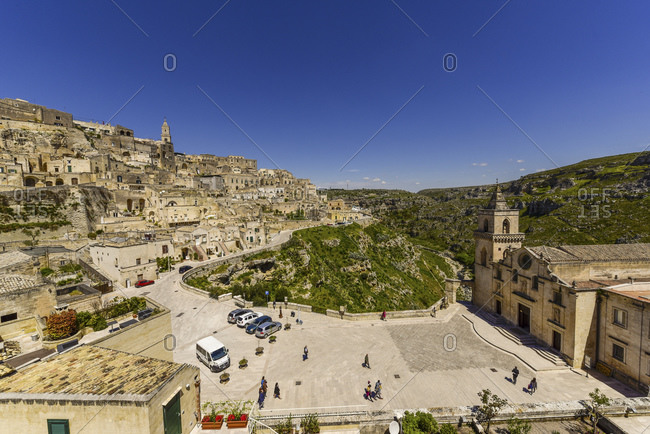 View to Sassi of Matera, Matera
