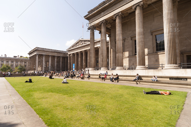 London, United Kingdom - September 1, 2011: British Museum