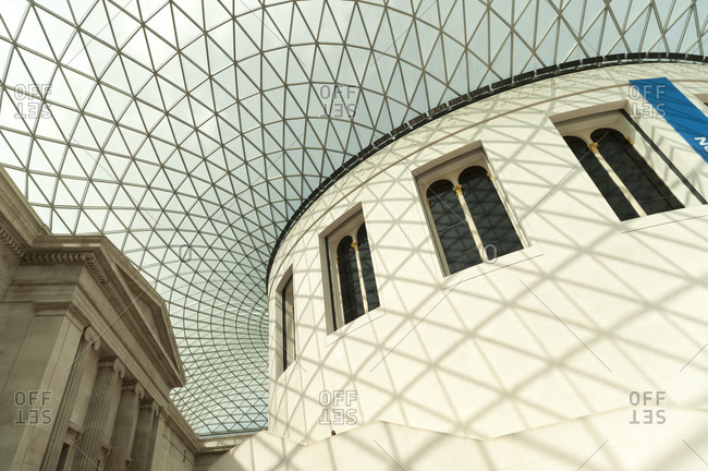 London, United Kingdom - September 1, 2011: Great Court in British Museum