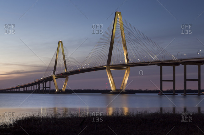 Arthur Ravenel Jr. Bridge over the Cooper River in Charleston, SC