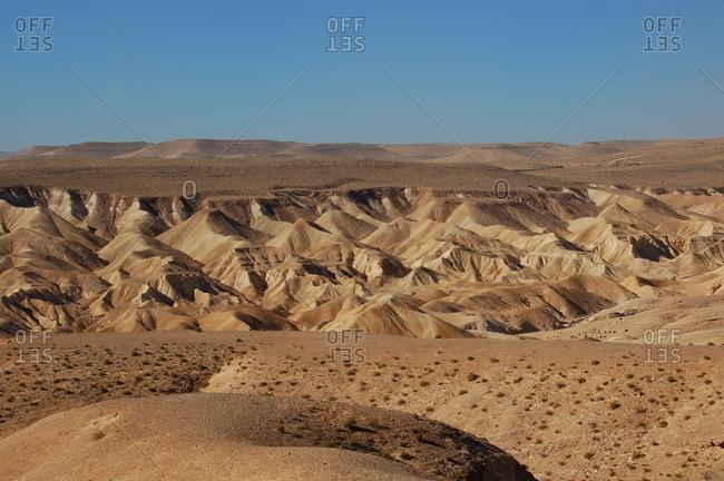 Desert of Negev, Israel