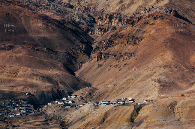 Chicham village, Spiti Valley, Himachal Pradesh, India