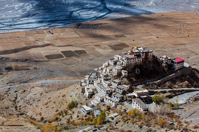 Kee Monastery, Spiti Valley, Himachal Pradesh, India