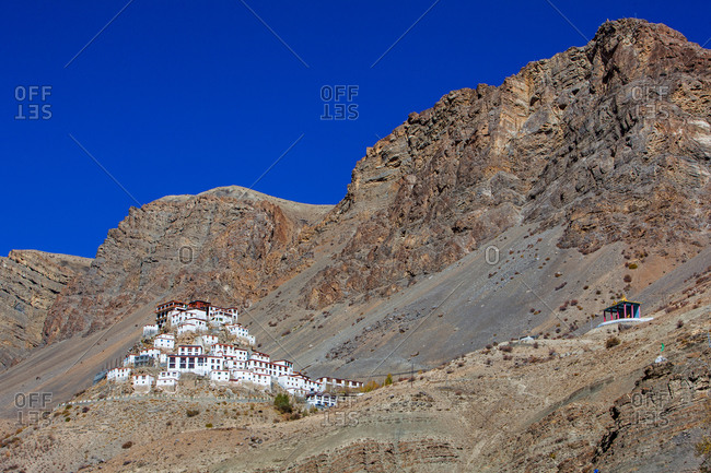 Kee Monastery in Spiti Valley, India