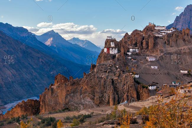 Dhangkar Gompa monastery in India