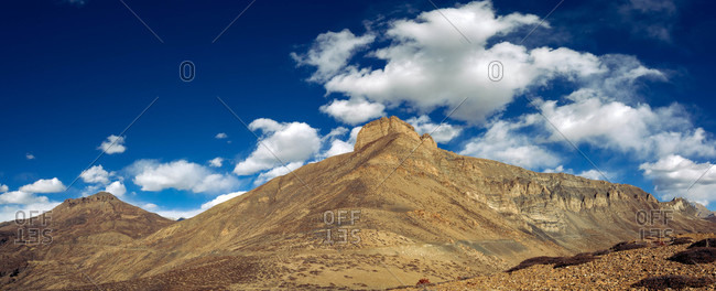 Landscape of Spiti in Himachal Pradesh, India