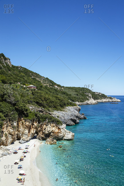 Mylopotamos beach near Tsagarada, Pelion peninsula, Greece