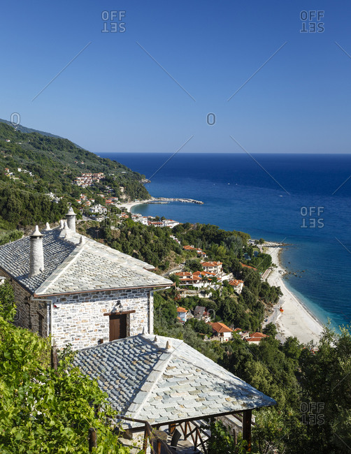 Agios Ioannis and Papa Nero beaches in Pelion peninsula, Greece