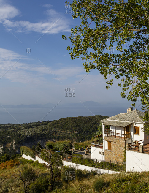 House in Vyzitsa, Pelion peninsula, Greece