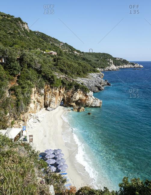 Mylopotamos beach in Pelion peninsula, Greece