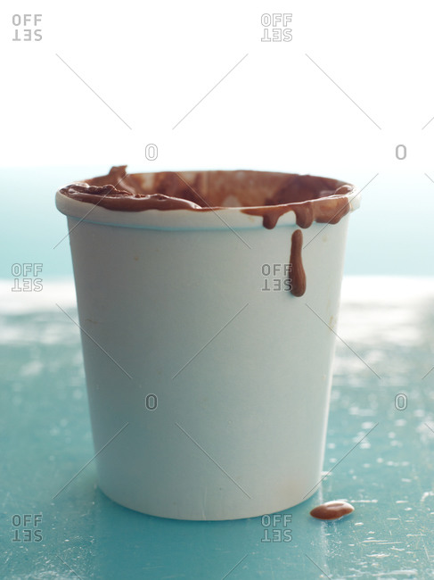 Pint of chocolate ice cream