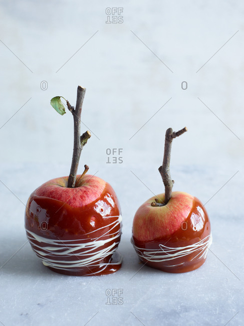 Candy apples from the Offset Collection