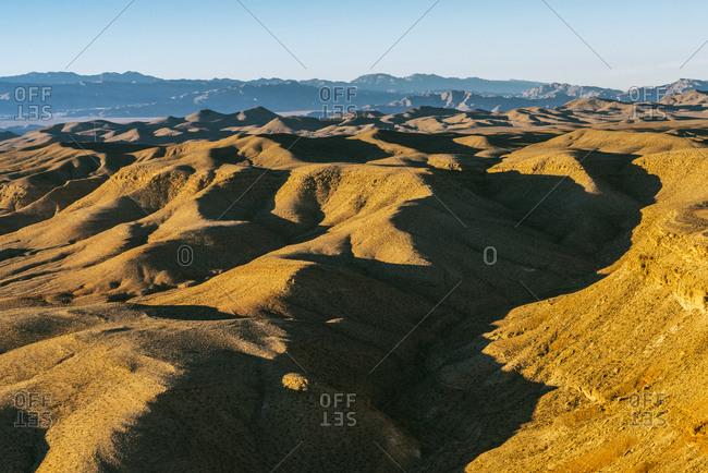 Verdant Nevada mountain landscape