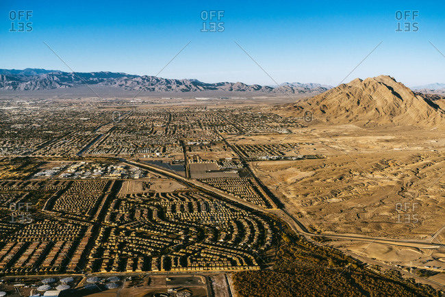Edge of Las Vegas housing developments