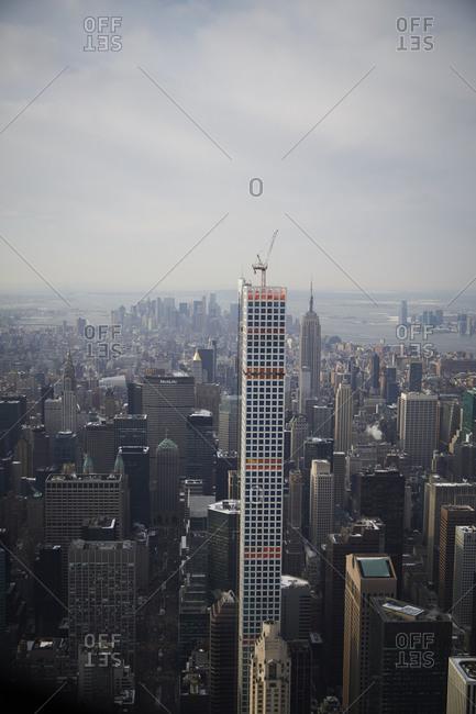 New York City, New York - February 18, 2015: Building 432 Park Avenue
