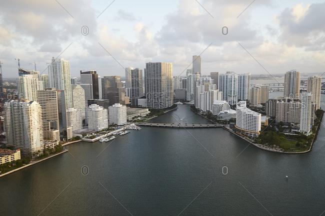 Miami and Brickell Key