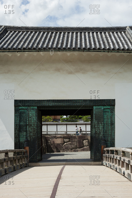 Gate in Japanese park