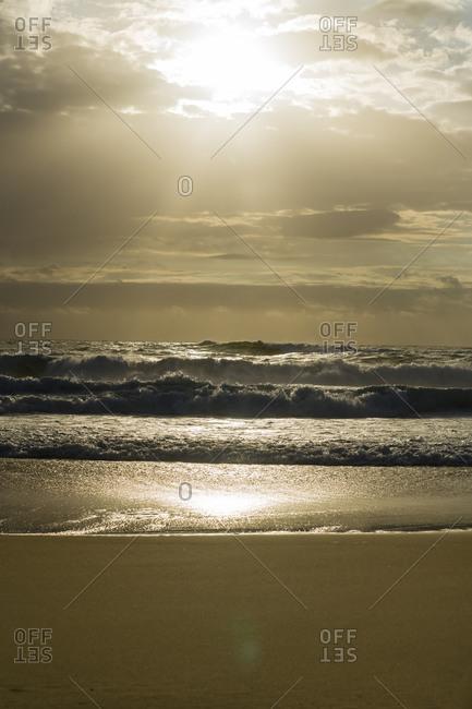 View to Atlantic at dusk