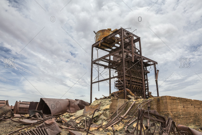 Abandoned gold mine in Western Queensland, Australia