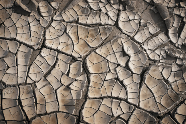Dry cracked ground - Offset Collection