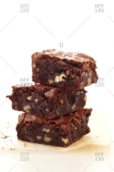 Fudge pecan brownies