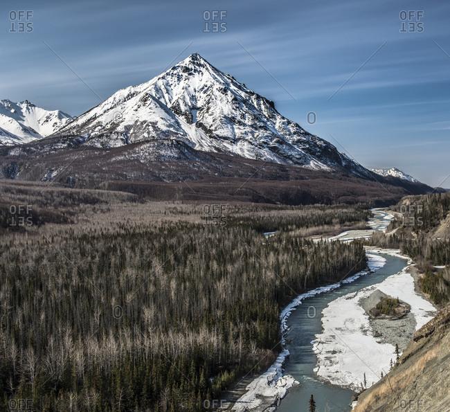 Roadside views on the Alaska Highway