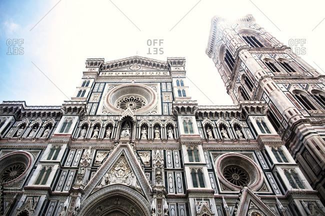 Facade of ornate church