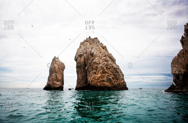 Arch of Cabo San Lucas rock formation, Mexico