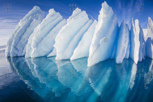 Iceberg, Paradise Harbor, Antarctic Peninsula, Antarctica