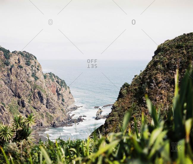 Cliffs on a seacoast