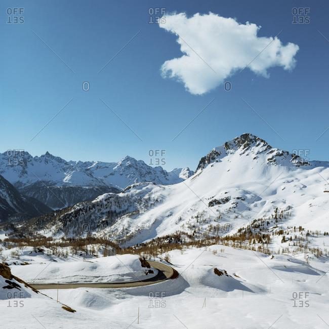 Alpine scenery, Graubuenden