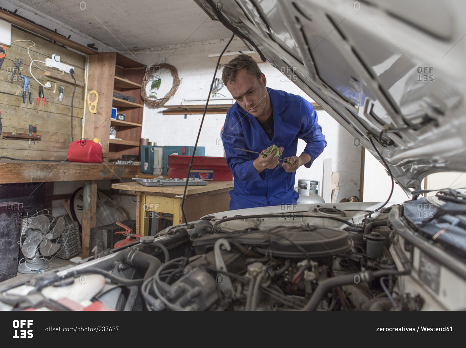 Man Working On Car In Home Garage Looking At Dipstick Make Your Own Beautiful  HD Wallpapers, Images Over 1000+ [ralydesign.ml]