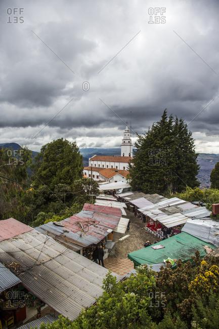 Vendors on Mount Monserrate, Bogota, Colombia