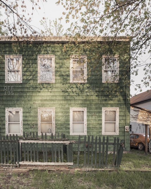 Vacant historic home on the south shore of Staten Island